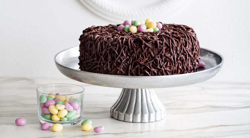 Торт Птичье гнездо