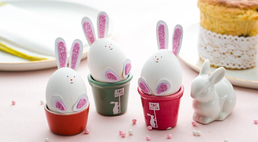 Яйца Пасхальные зайчики
