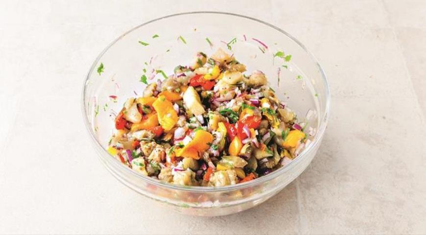 Хоровац, икра из печеных овощей, пошаговый рецепт с фото