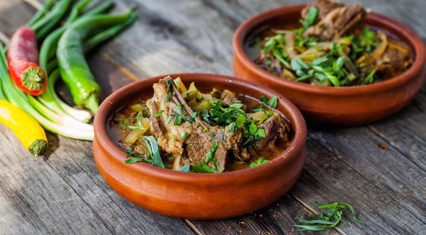 Чакапули, пошаговый рецепт с фото