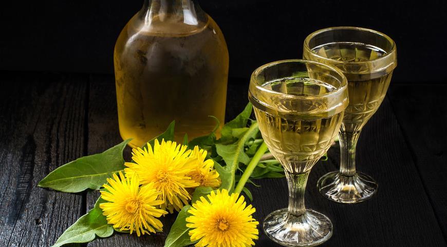 Вино из цветков одуванчика рецепт