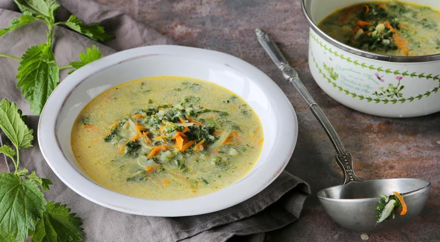Суп из крапивы 5 пошаговых рецептов с фото крапивного супа