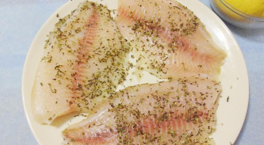 Рыба в горчичной корке. Шаг 2