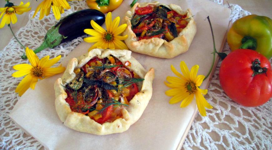Открытый овощной пирог. Шаг 3