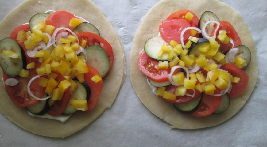 Открытый овощной пирог. Шаг 1