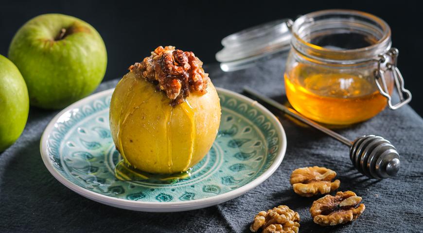 Печеные яблоки при похудении отзывы