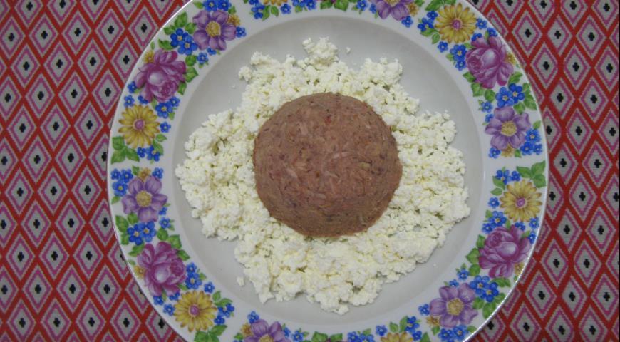 Диетический салат с консервированным тунцом и вялеными томатами ... | 480x870