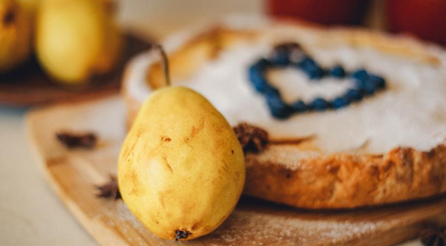 Цветаевский пирог с грушами 3