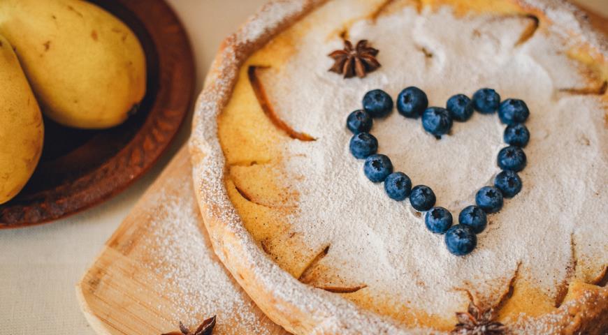 Цветаевский пирог с грушами 2