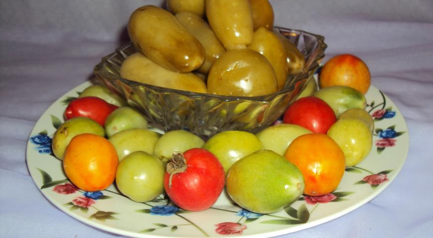 Солёные зелёные помидоры с горчицей, пошаговый рецепт с фото