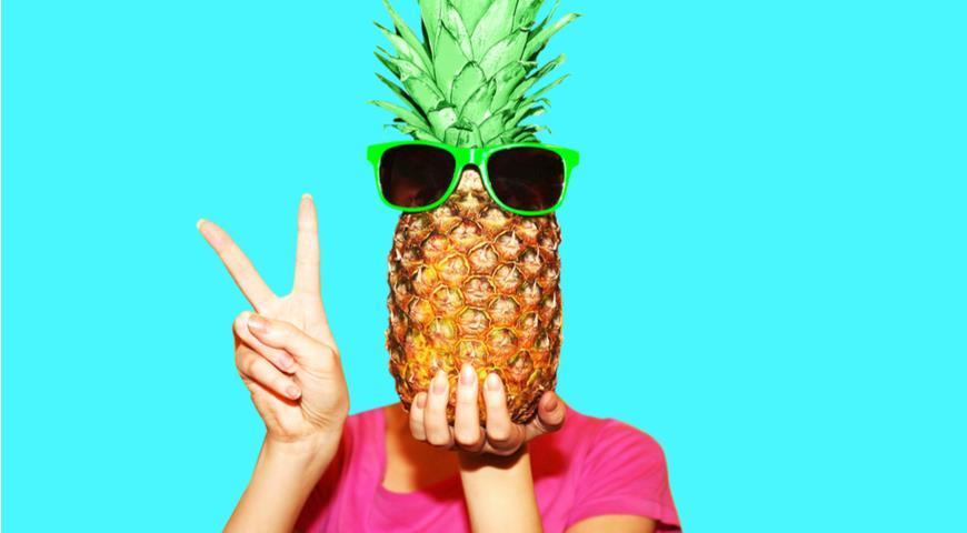 Человек-ананас