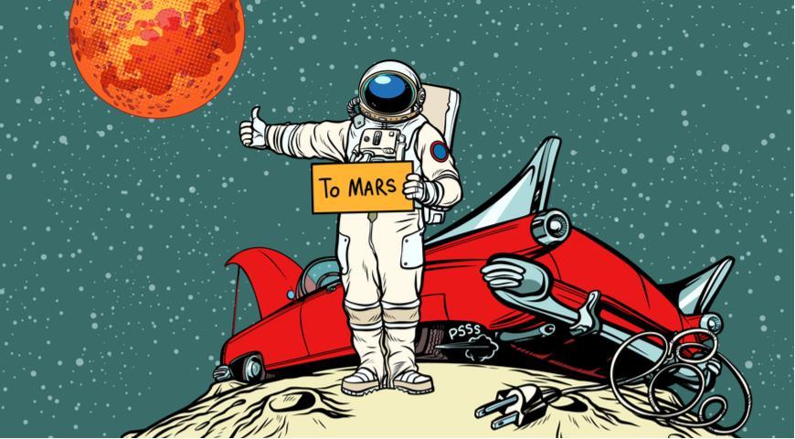 Автостопом на Марс