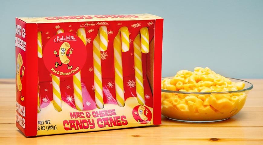 В Америке изобрели леденцы со вкусом макарон с сыром