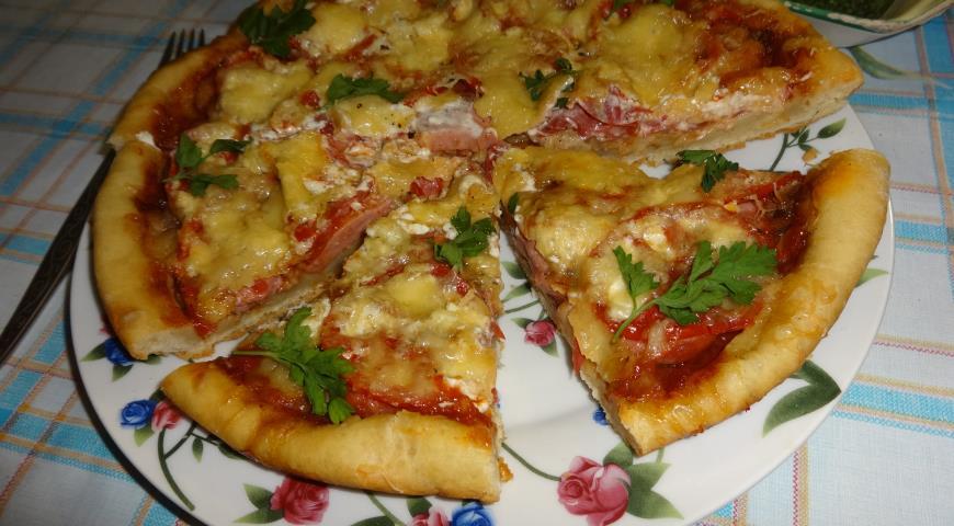 Піца з шинкою