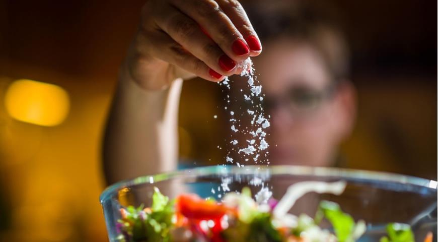 Солим овощной салат