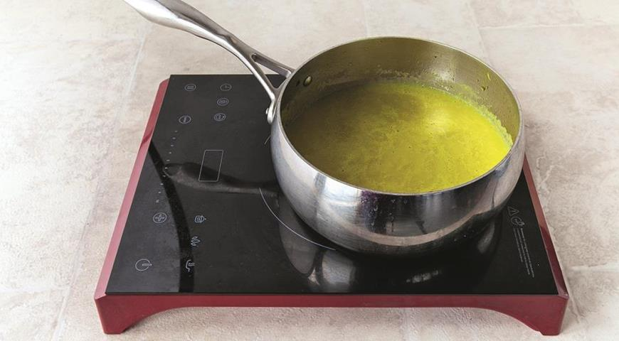 Суп из печеных овощей с зеленью. Шаг 2