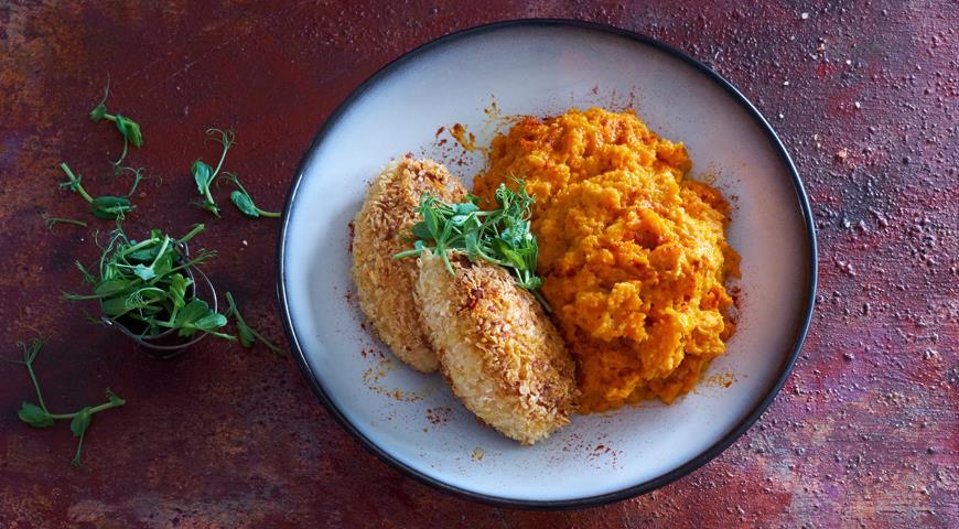 Пряное морковное пюре