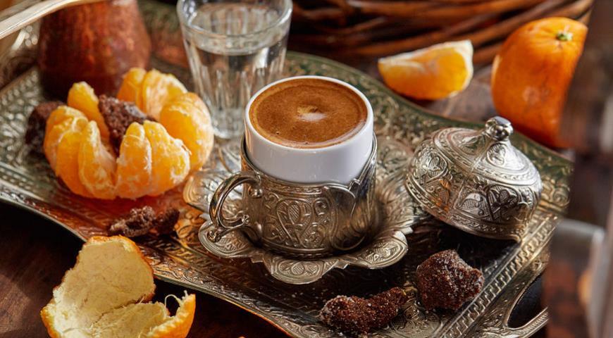 кофе с мандарином и лавандой