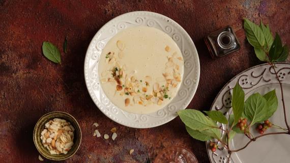 Английский миндальный суп из викторианской эпохи