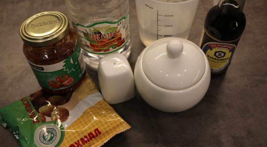 Готовим кисло-сладкий соус для мяса по-китайски