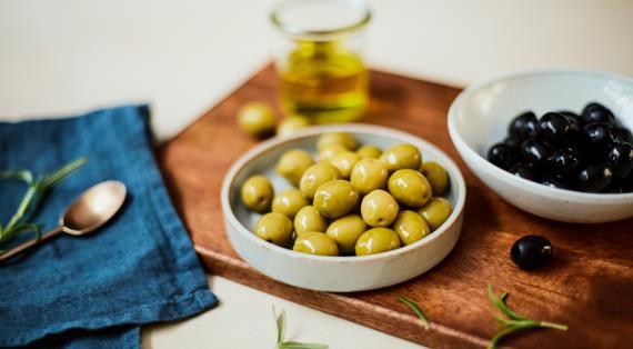 Столовые оливки - продукт, неподвластный времени