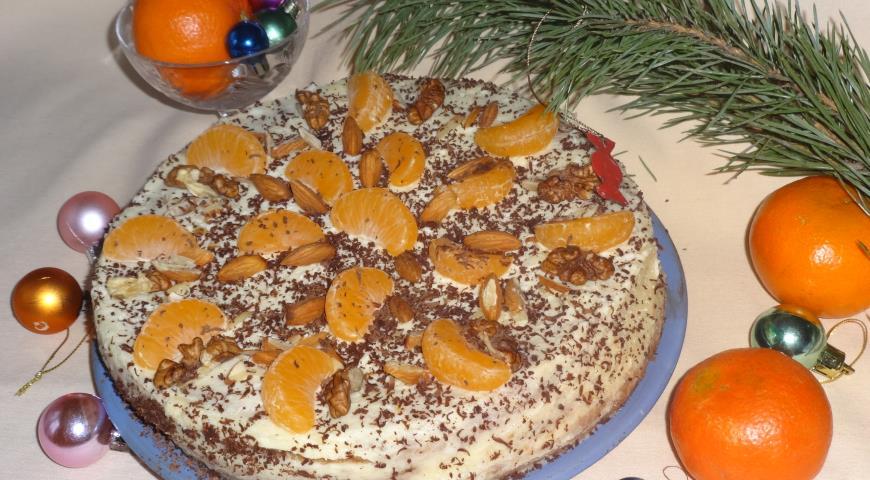 Мандариновый торт 2