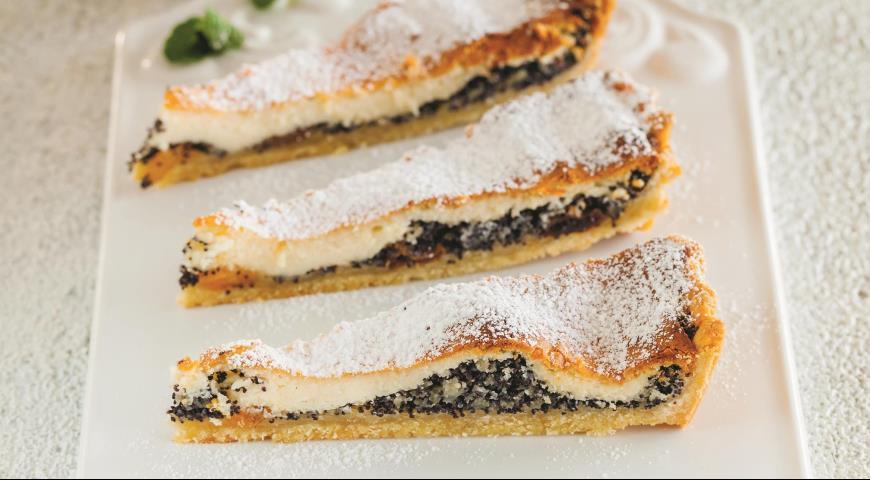 Пирог с творогом и маком 2