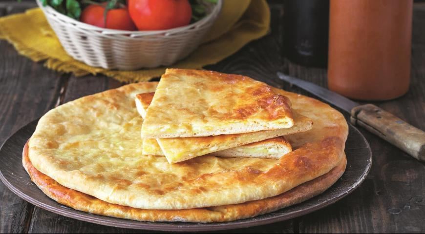 Осетинский пирог с картофелем и сыром 2