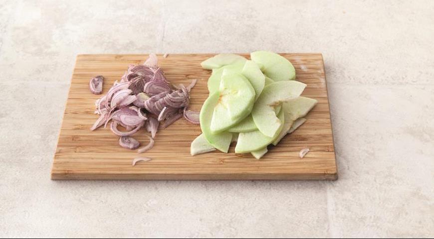 Тарталетки Утка с яблоками, пошаговый рецепт с фото