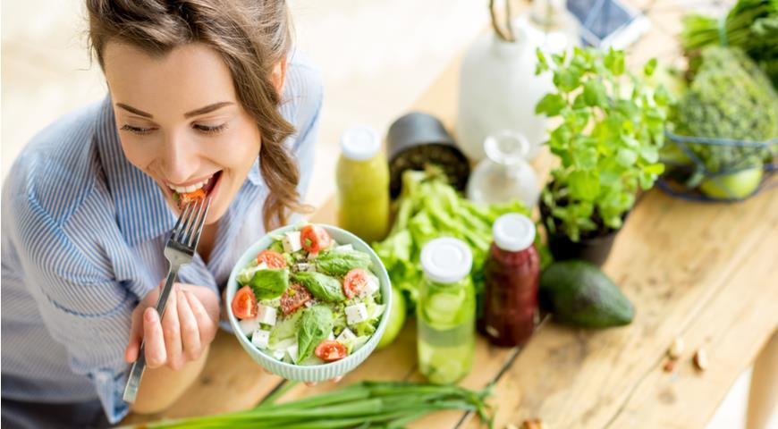 Зелень, овощи и фрукты для красоты и здоровья