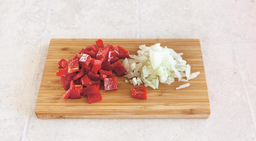 Пилав з булгуру з помідорами і нутом по-турецьки