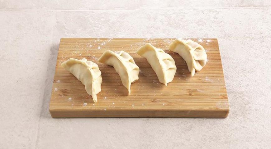 Японські пельмені гедз з креветками