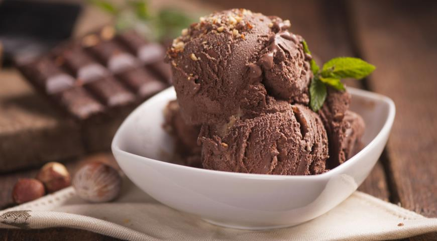 Мороженое без молока и сахара