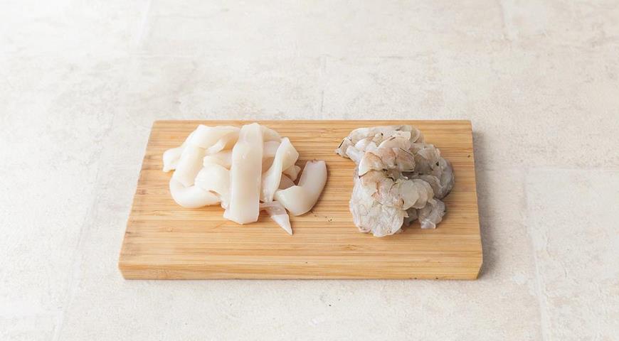 Борщ з морепродуктів для людей з діабетом