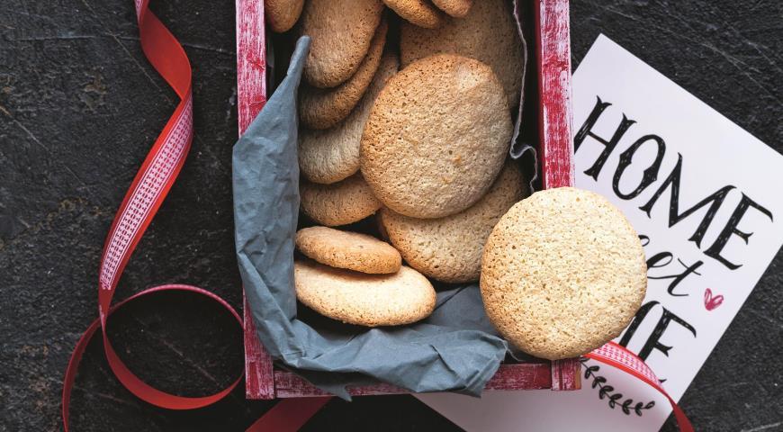 Миндальное печенье без муки, пошаговый рецепт с фото