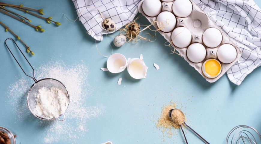 Ингредиенты для выпечки кулича и пасхального хлеба