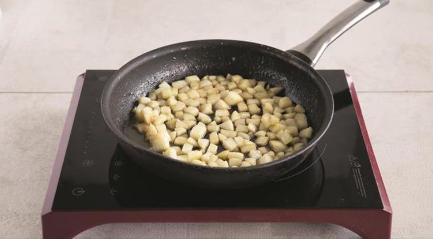 Фото приготовления рецепта: Русский крупеник из пшена с творогом, шаг №2