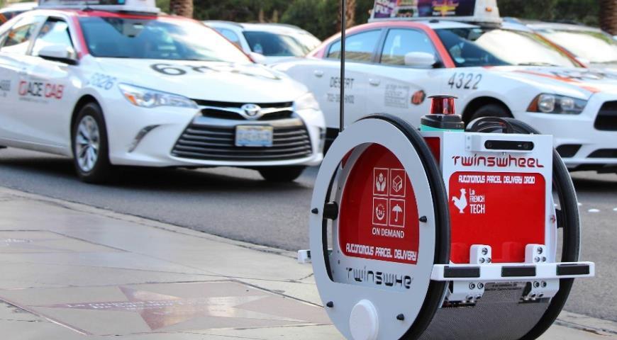 Робот TwinswHeel для доставки продуктов