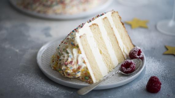 Торт «Дважды ванильный»