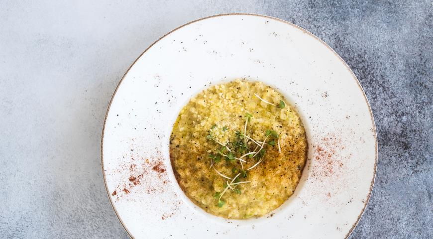 Сельдеретто – ризотто без риса, из сельдерея с картофелем