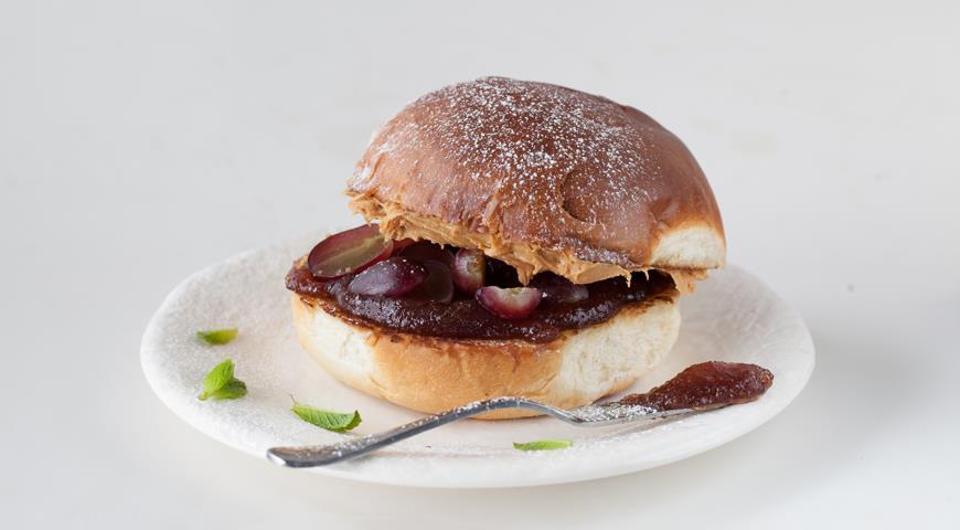 Классический американский сладкий сэндвич для детей