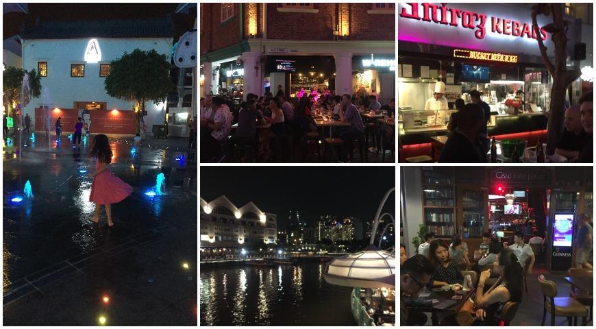 Clarke, Сингапур