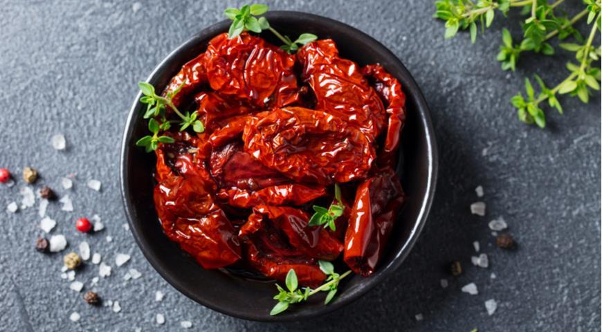 Вяленые помидоры с уксусом, пошаговый рецепт с фото