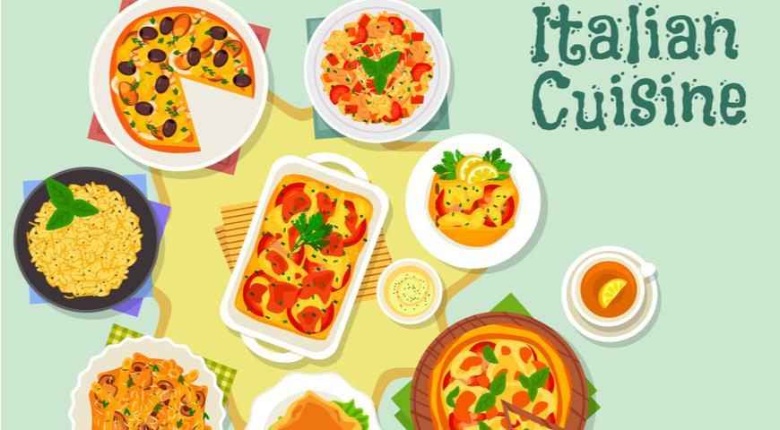 Итальянская кухня - ведущий экспортёр своих кулинарных традиций