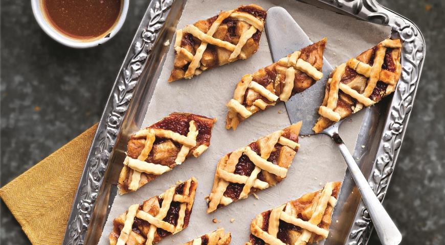 Яблочное печенье, пошаговый рецепт с фото