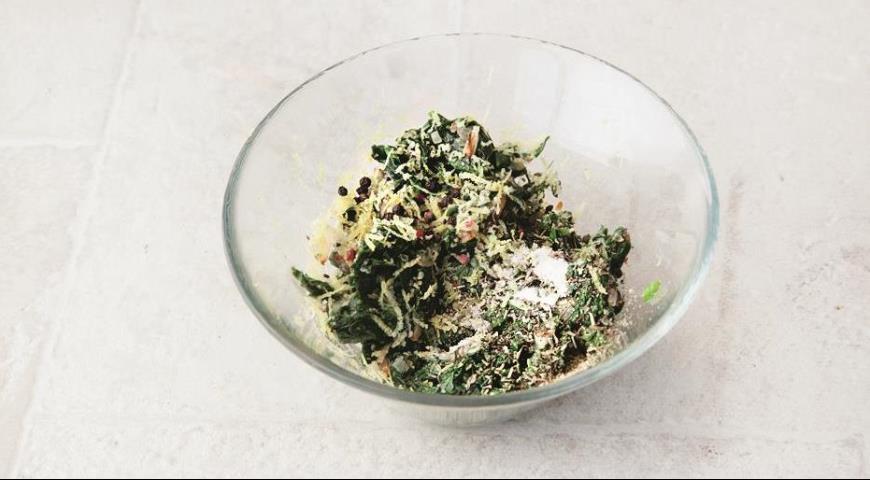 Готовим начинку для цветной капусты