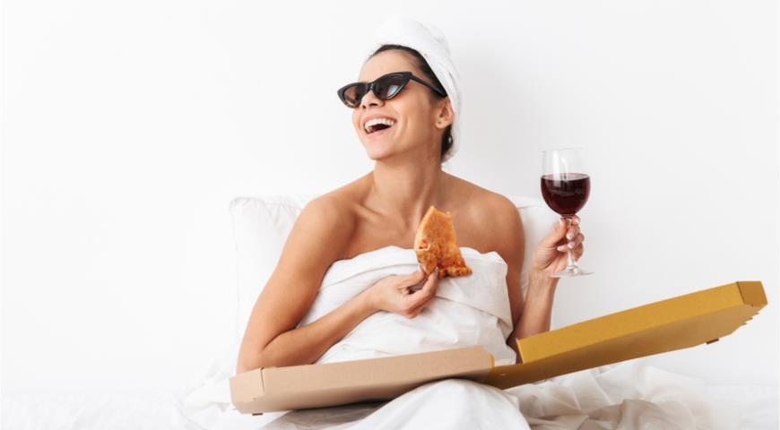 Вино перед сном так же эффективно для похудения, как час в спортзале