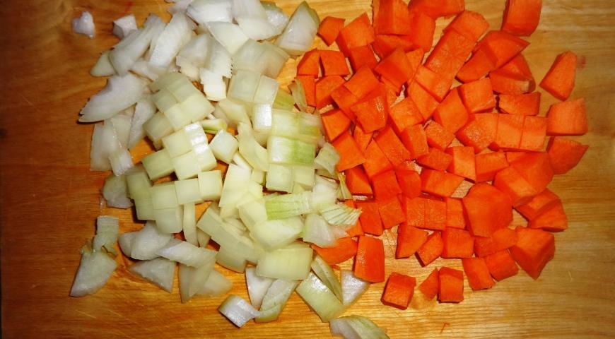 Овочевий суп з фрикадельками