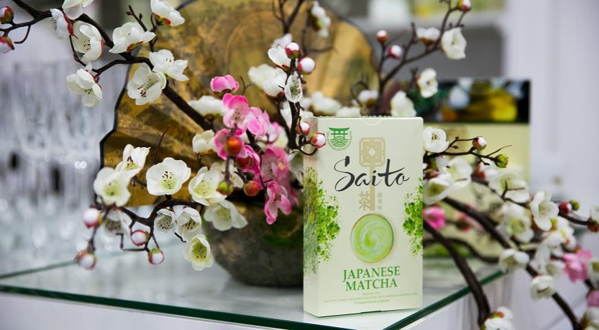 Неоазиатская чайная церемония от Saito