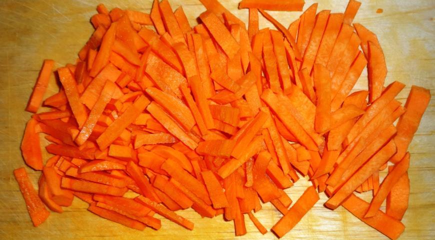 Морковь для карася